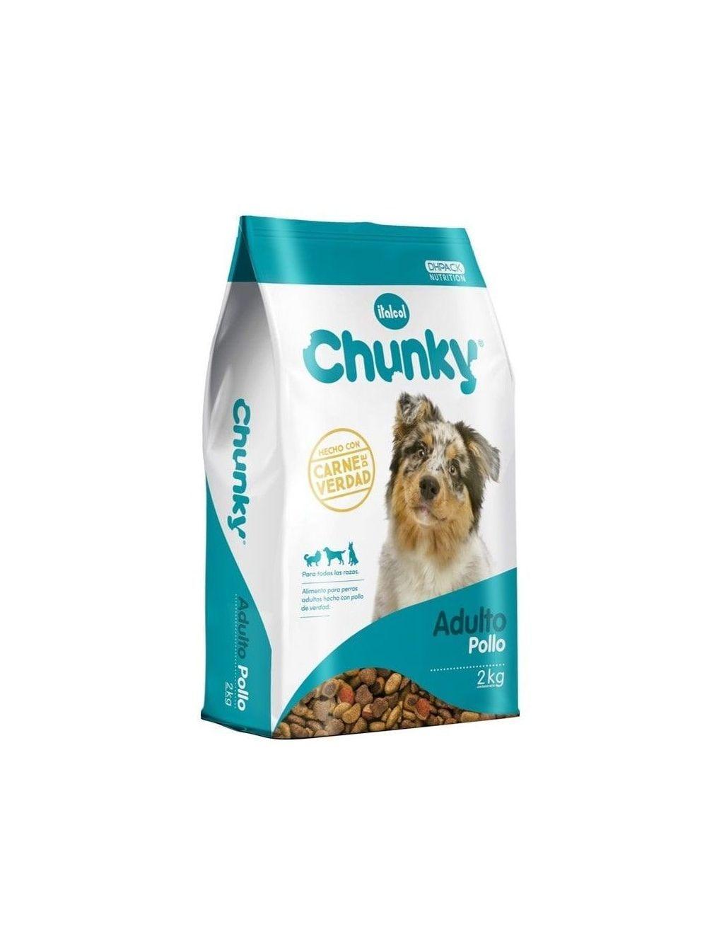 Comida para perro Chunky Adultos Pollo-Ciudaddemascotas.com