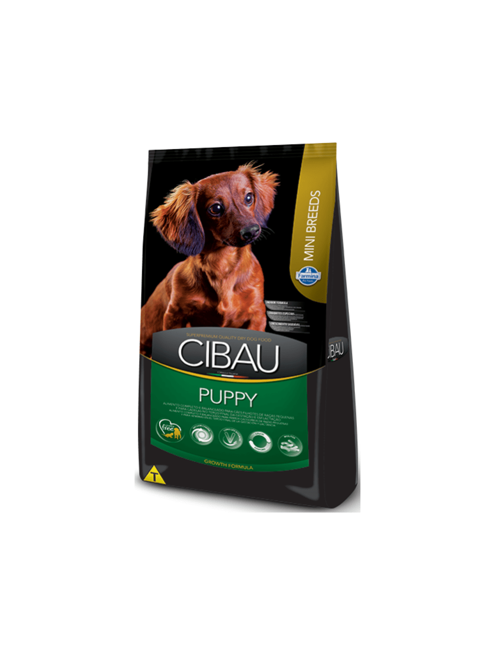 Cibau Puppy Mini Breed 1KG - Ciudaddemascotas.com