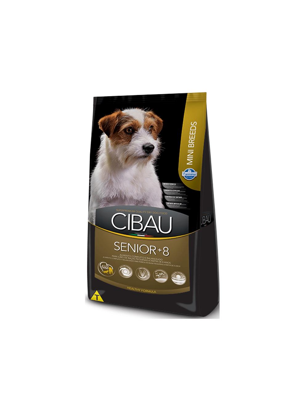 Comida Cibau Senior Mini Breed 3 Kg - Ciudaddemascotas.com
