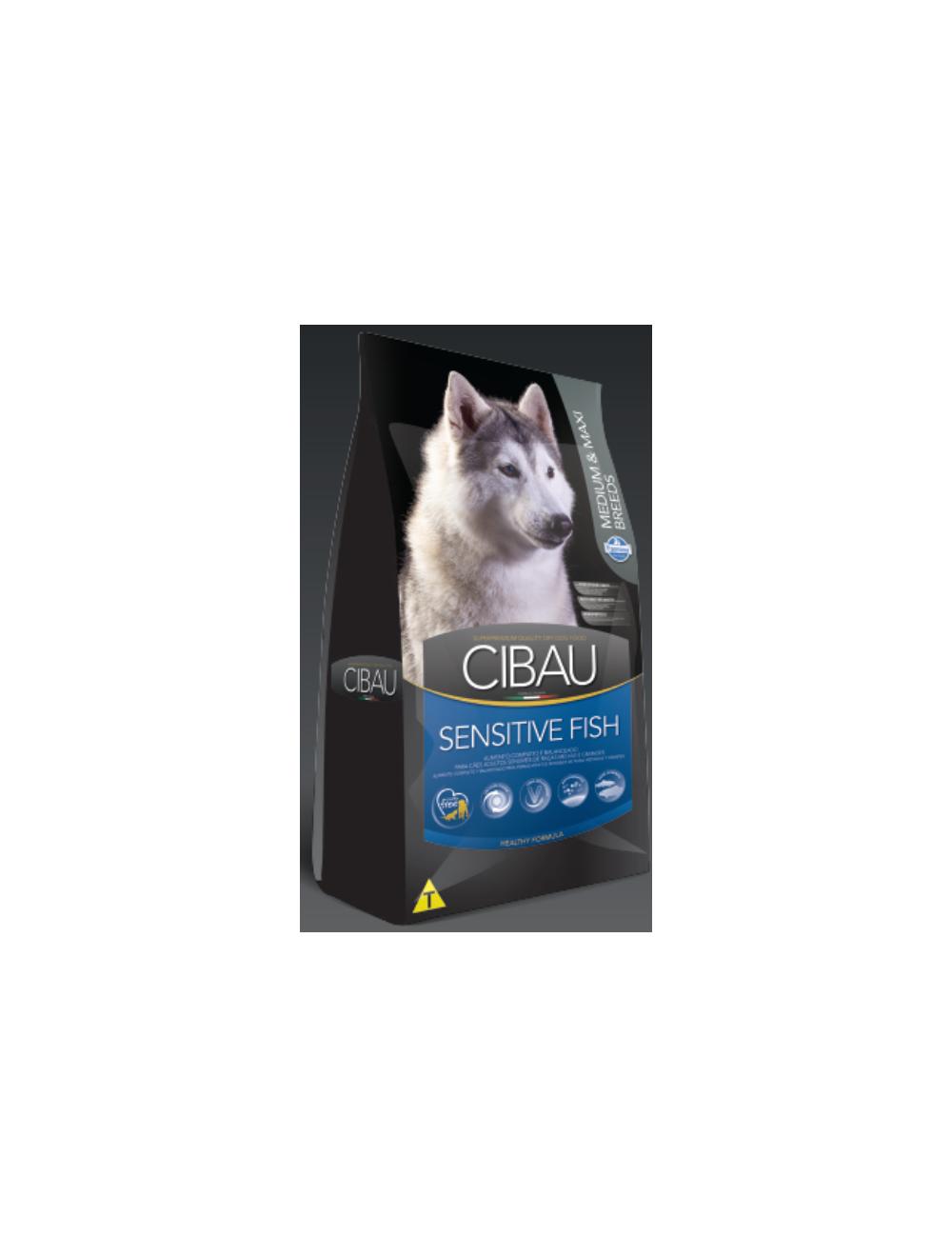 Cibau Sensitive Fish Medium and Maxi Breed 12 Kg