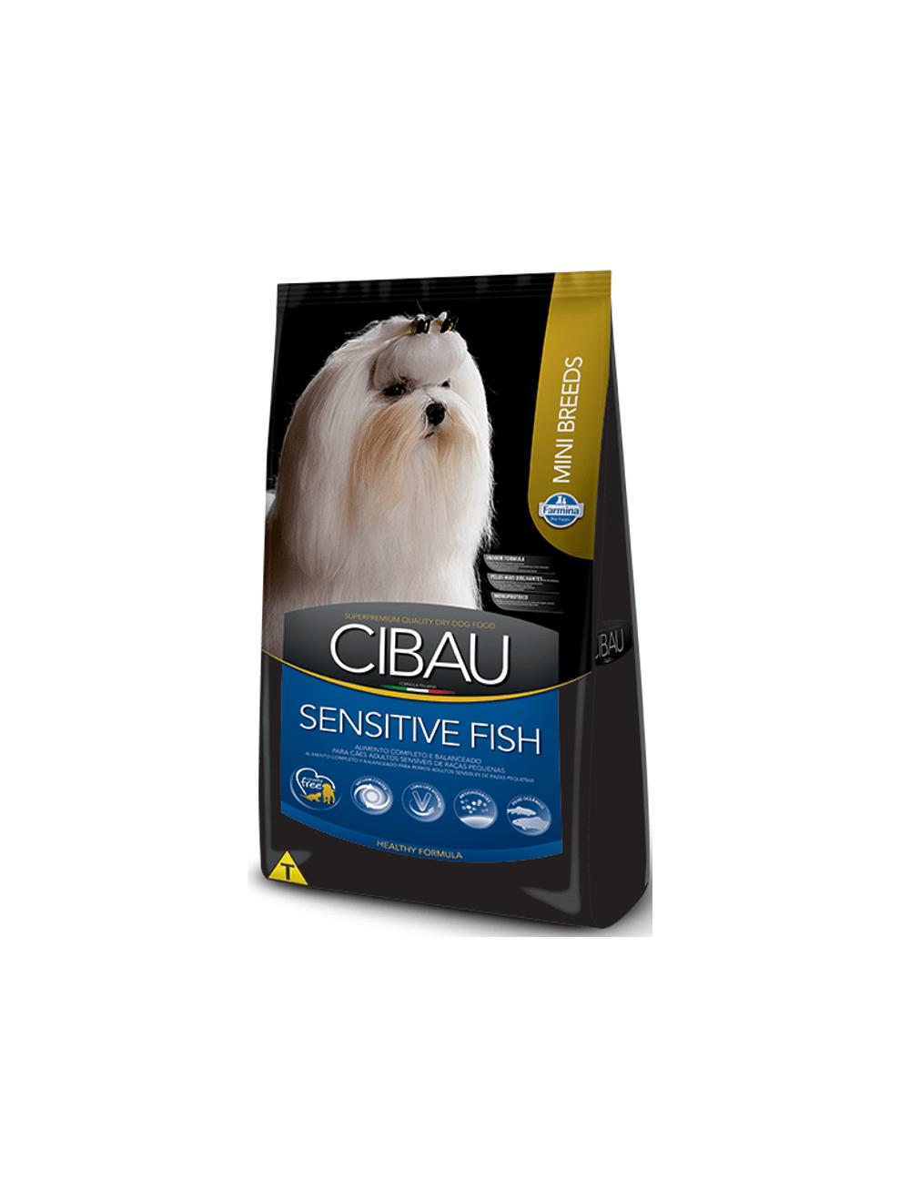 Comida Perro Cibau Sensitive Fish Mini Breed-Ciudaddemascotas.com