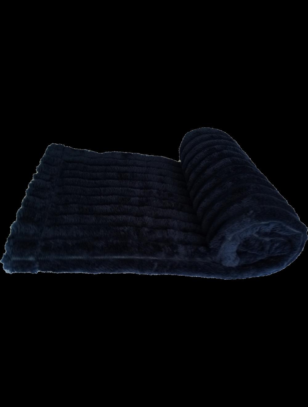 Cobija Relief para Mascotas Azul Oscuro S