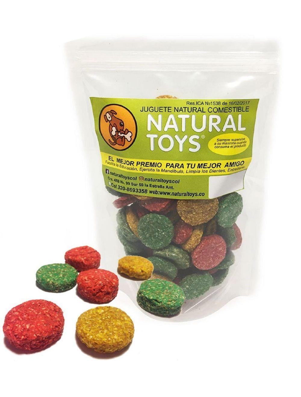 Cocaditas de fibra natural para perros 80 gr - Ciudaddemascotas.com