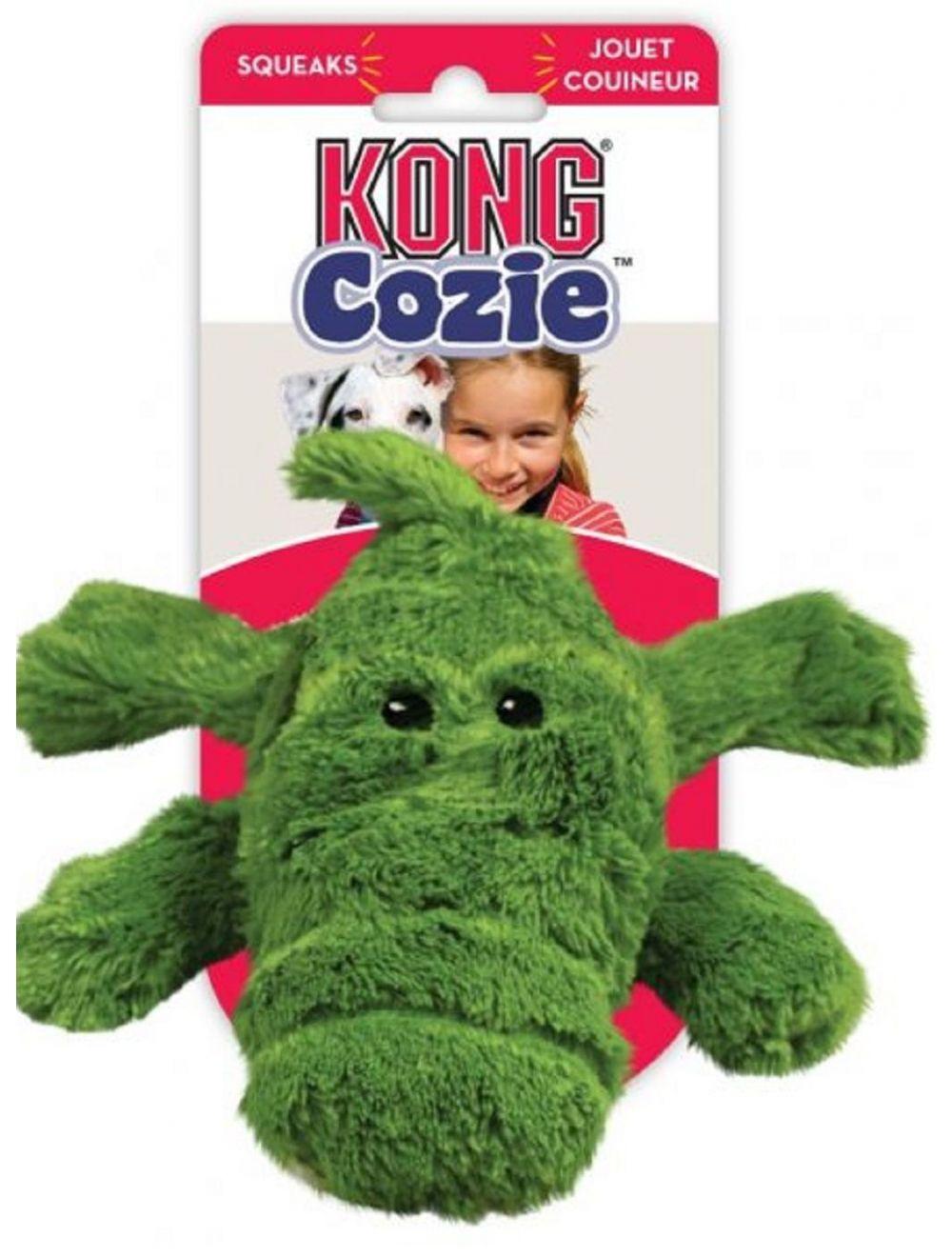 Kong perro peluche cozie cocodrilo medium