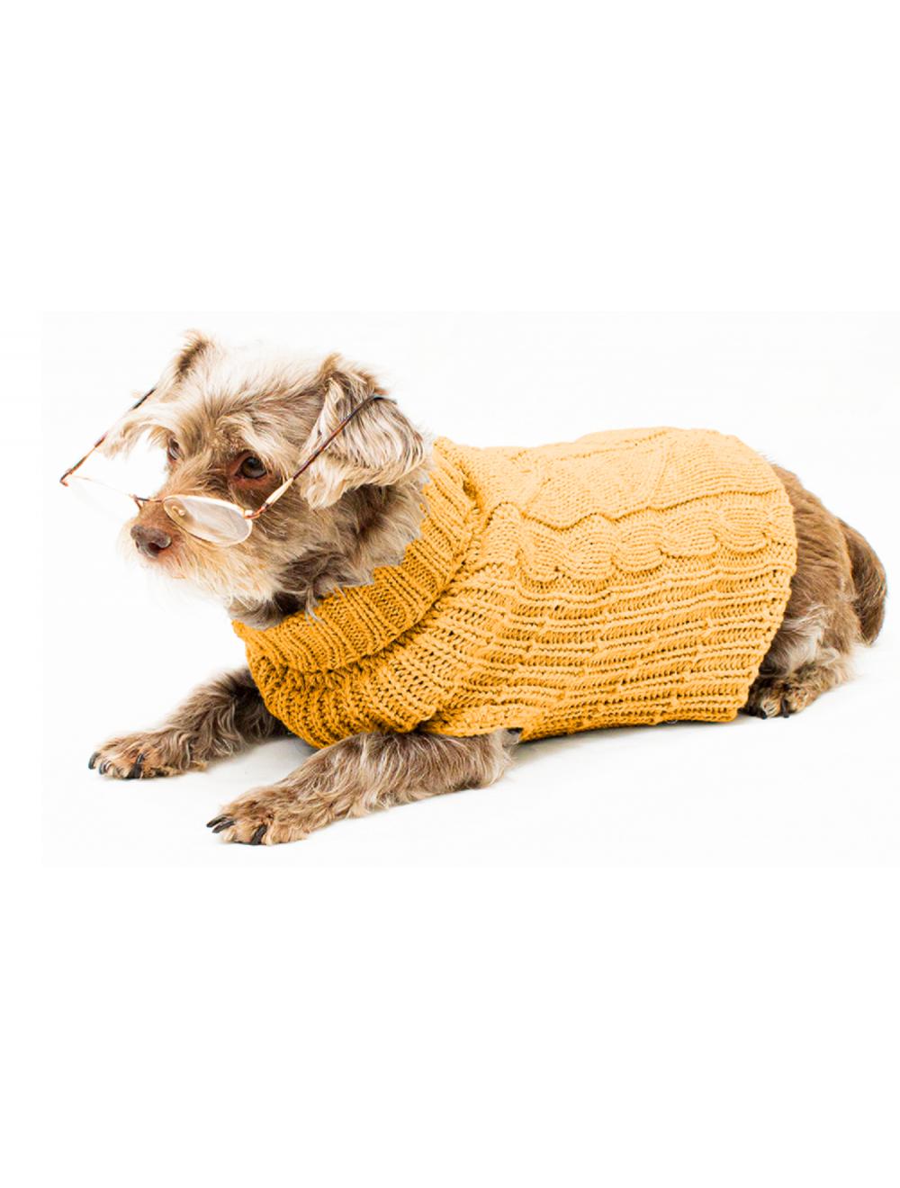 Saco Cody para Perros Amarillo XS - Ciudaddemascotas.com