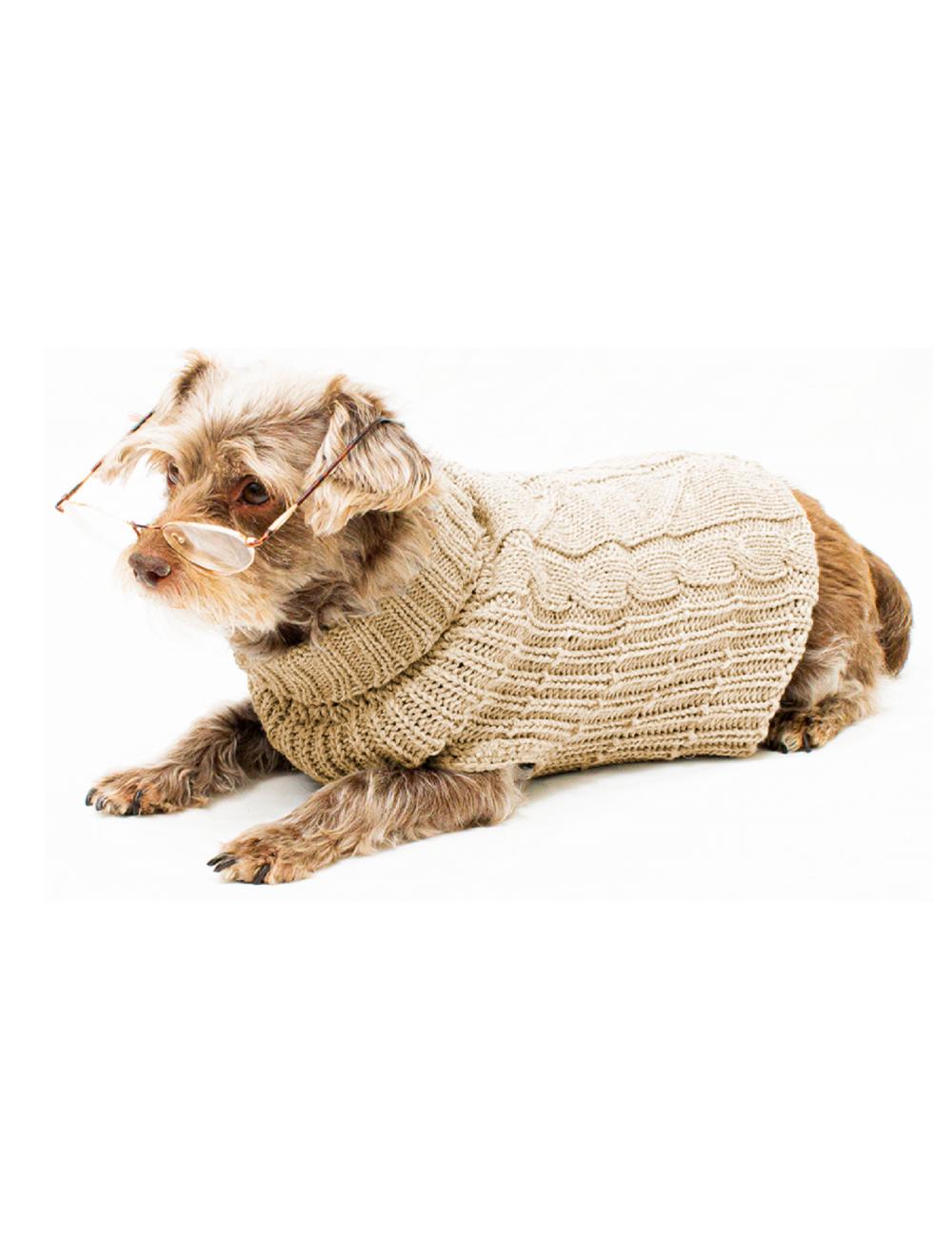 Saco Cody para Perros Beige talla XS - Ciudaddemascotas.com