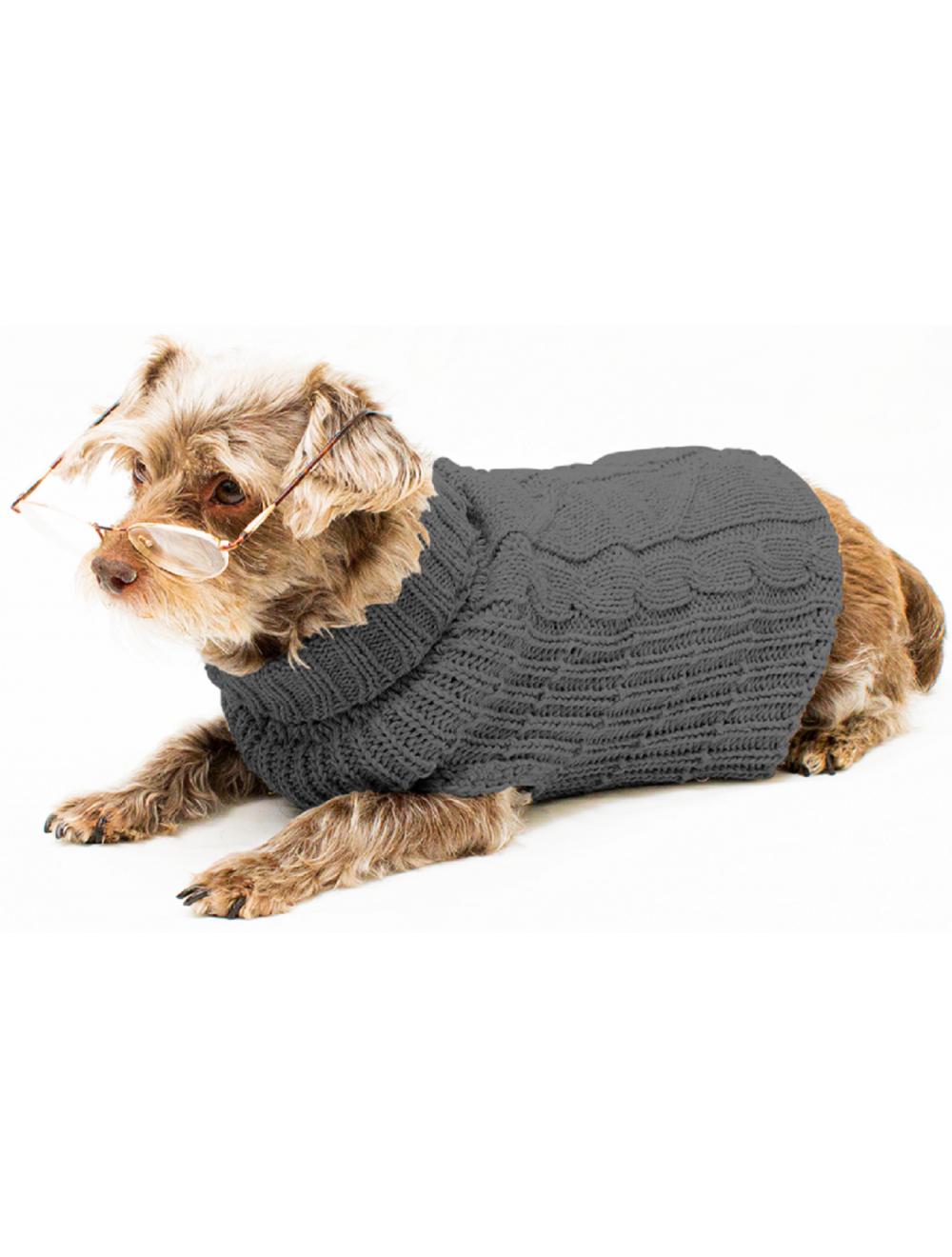 Saco Cody para Perros Gris Oscuro L - Ciudaddemascotas.com