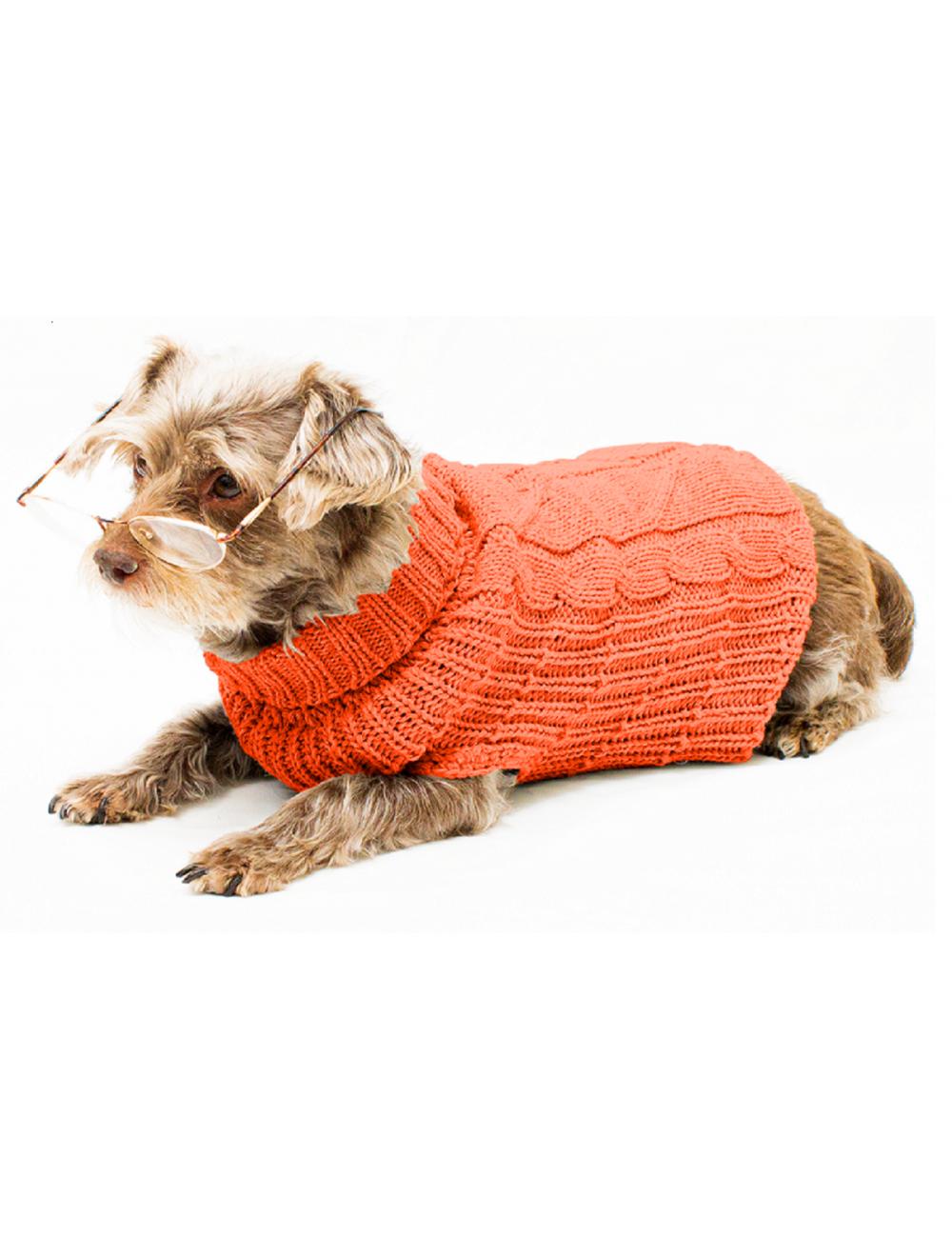 Ropa para perro Saco Cody Naranja Talla M - Ciudaddemascotas.