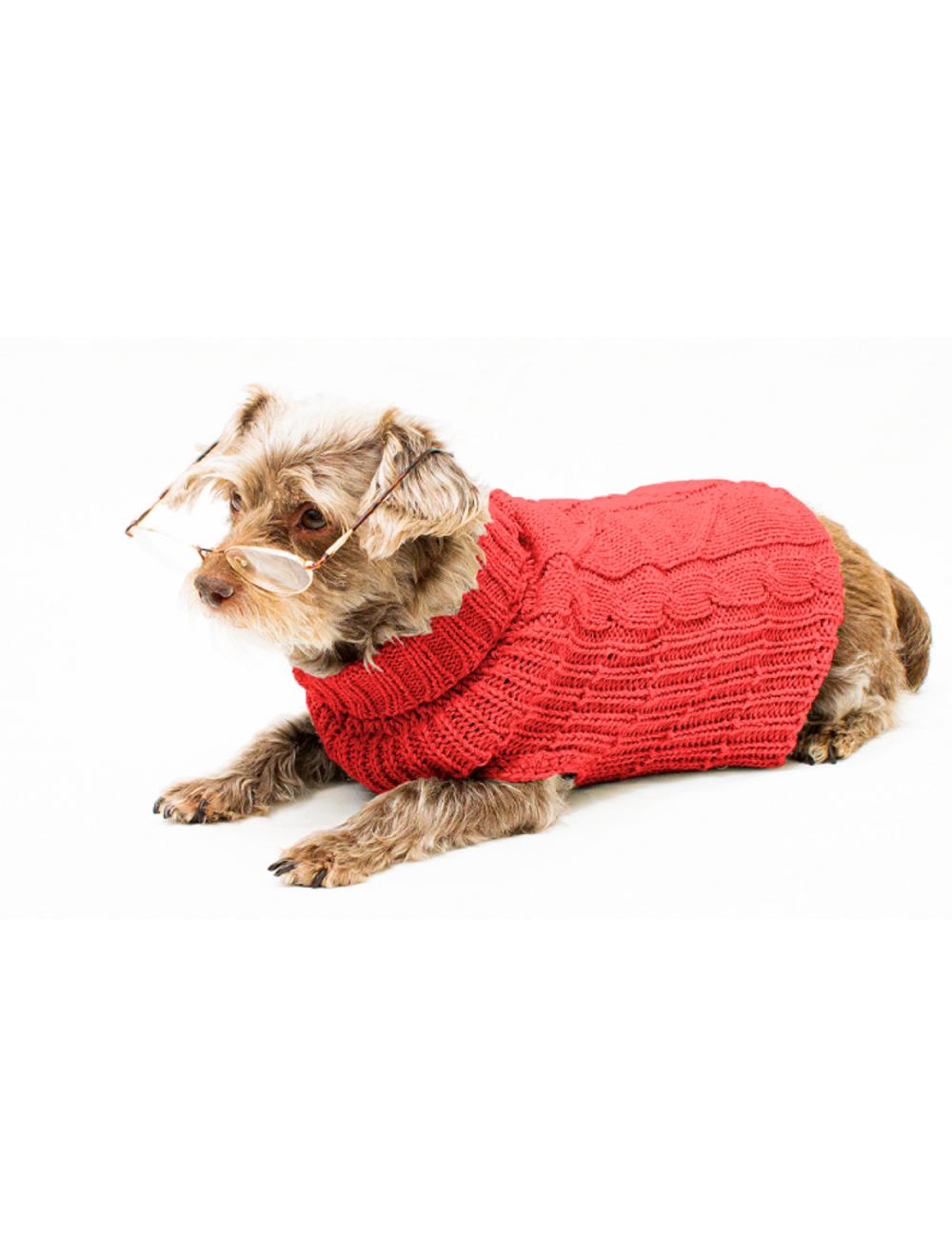 Saco Cody para Perros Rojo XS