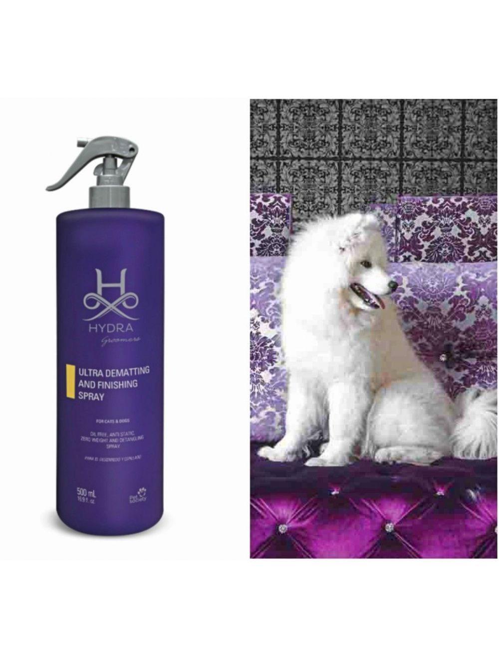 Desenredante pelo Perro y gato Hydra Ultra dematting and finish Spray 500 ml. - Ciudaddemascotas.com