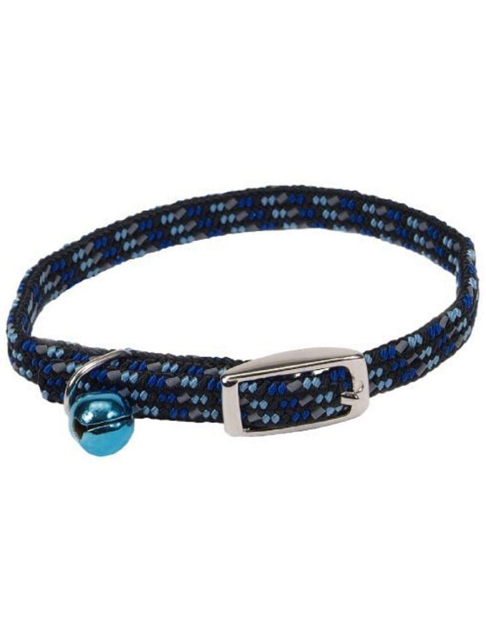 Collar para Gato Lil pals azul reflectivo-Ciudaddemascotas.com