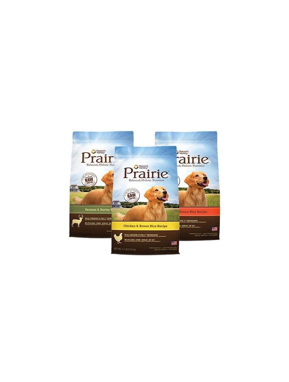 Comida Prairie Salmón y Arroz Integral 1 Kg- Ciudaddemascotas.com
