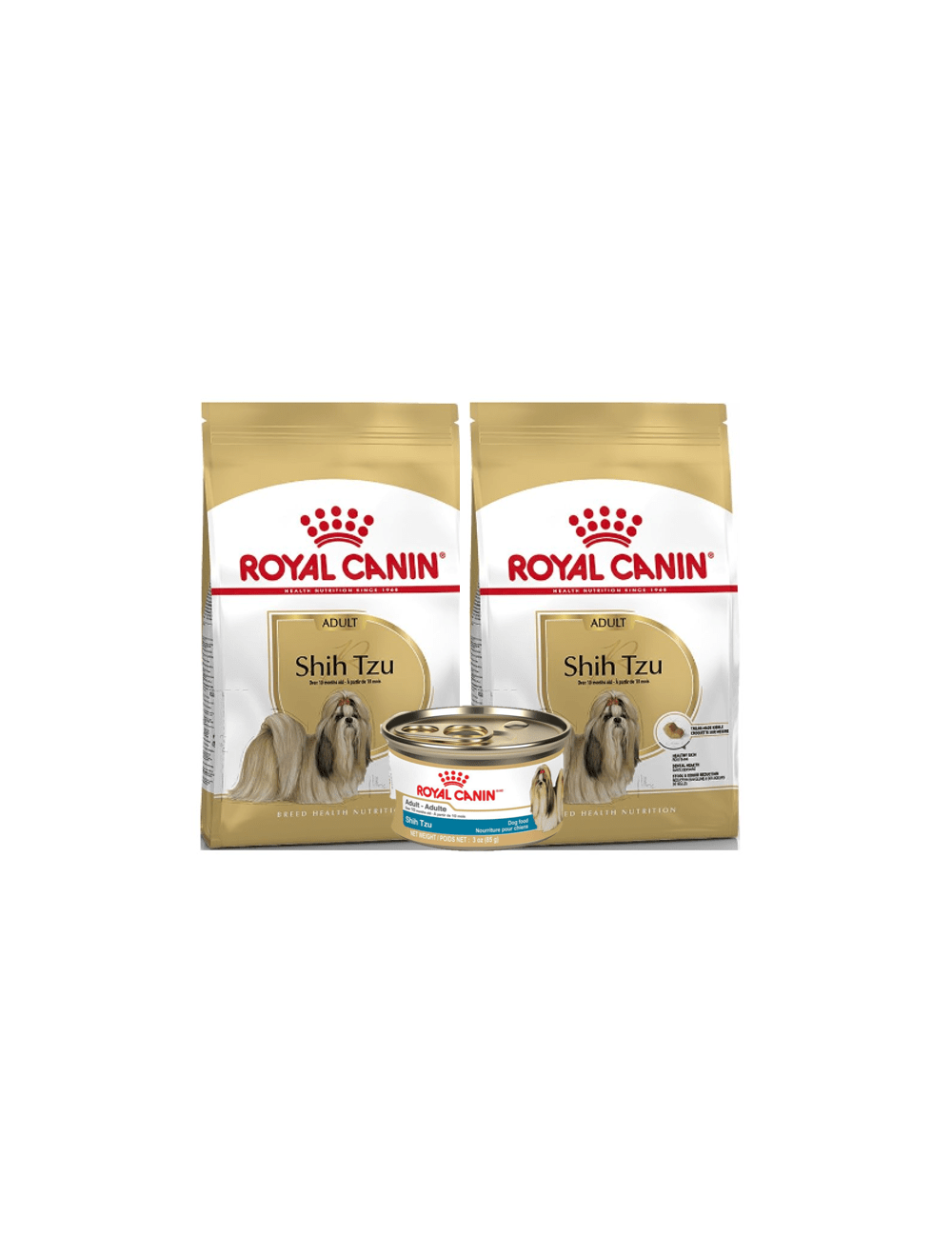 Royal Canin Shih Tzu Adulto 1.13 Kg Combo x 2 + Lata gratis