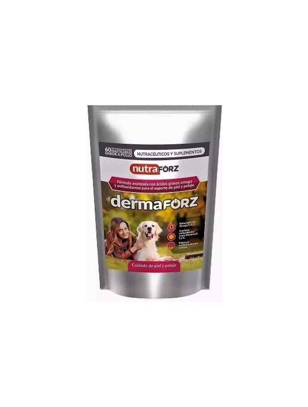 Derma Forz Suplemento Para Perro x 60 tab