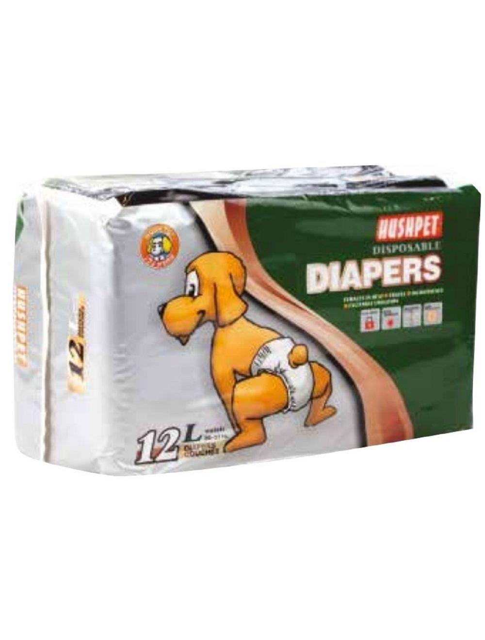 Diapers Pañales Desechables Talla L - Ciudaddemascotas.com