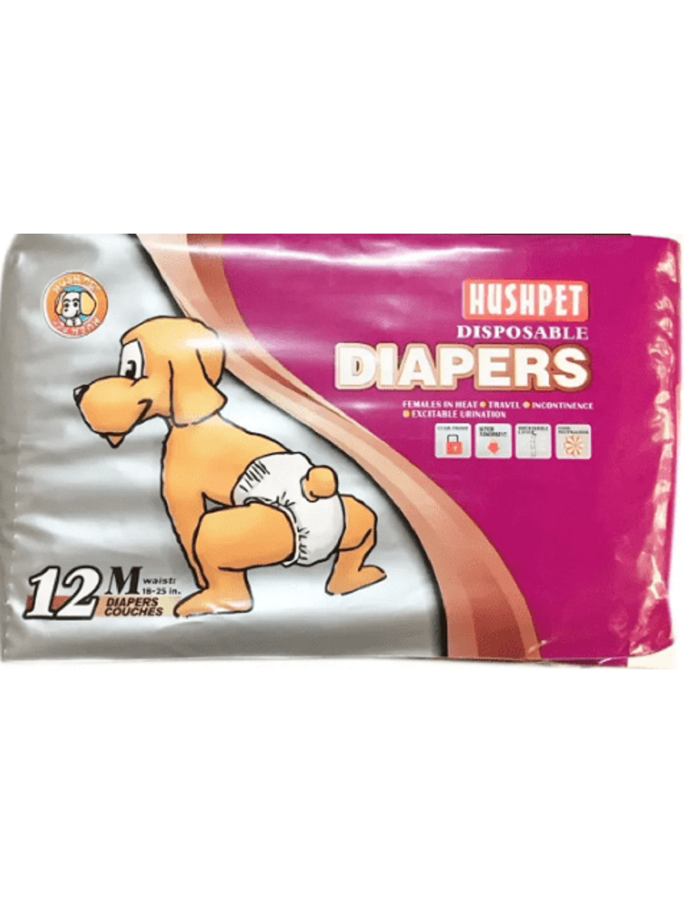 Diapers Pañales Desechables Talla M