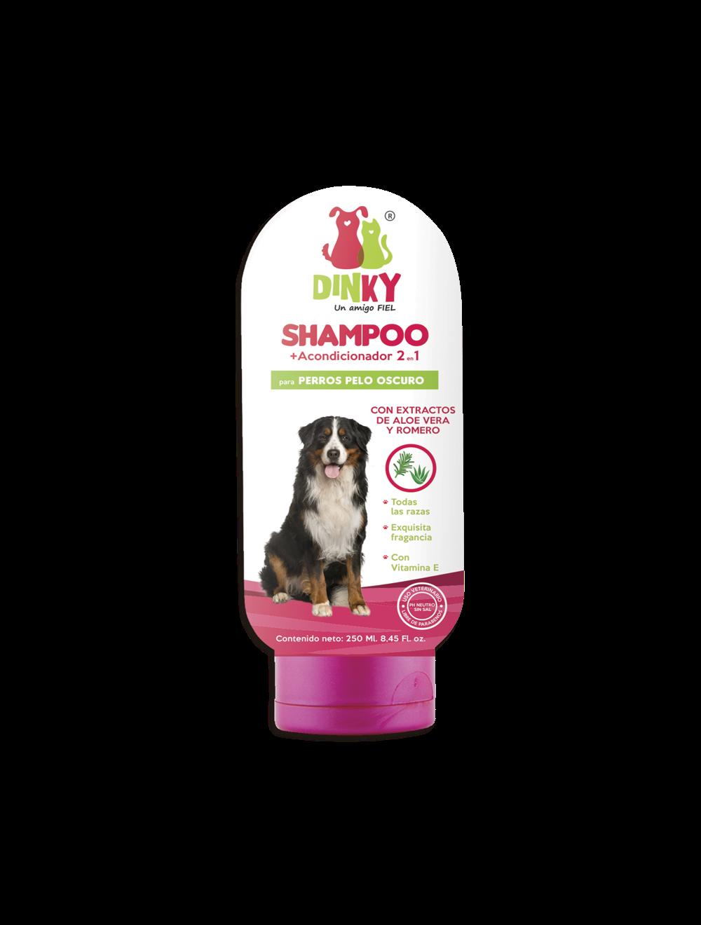 Dinky Shampoo Para Perros Pelaje Oscuro x 250 ml - P80