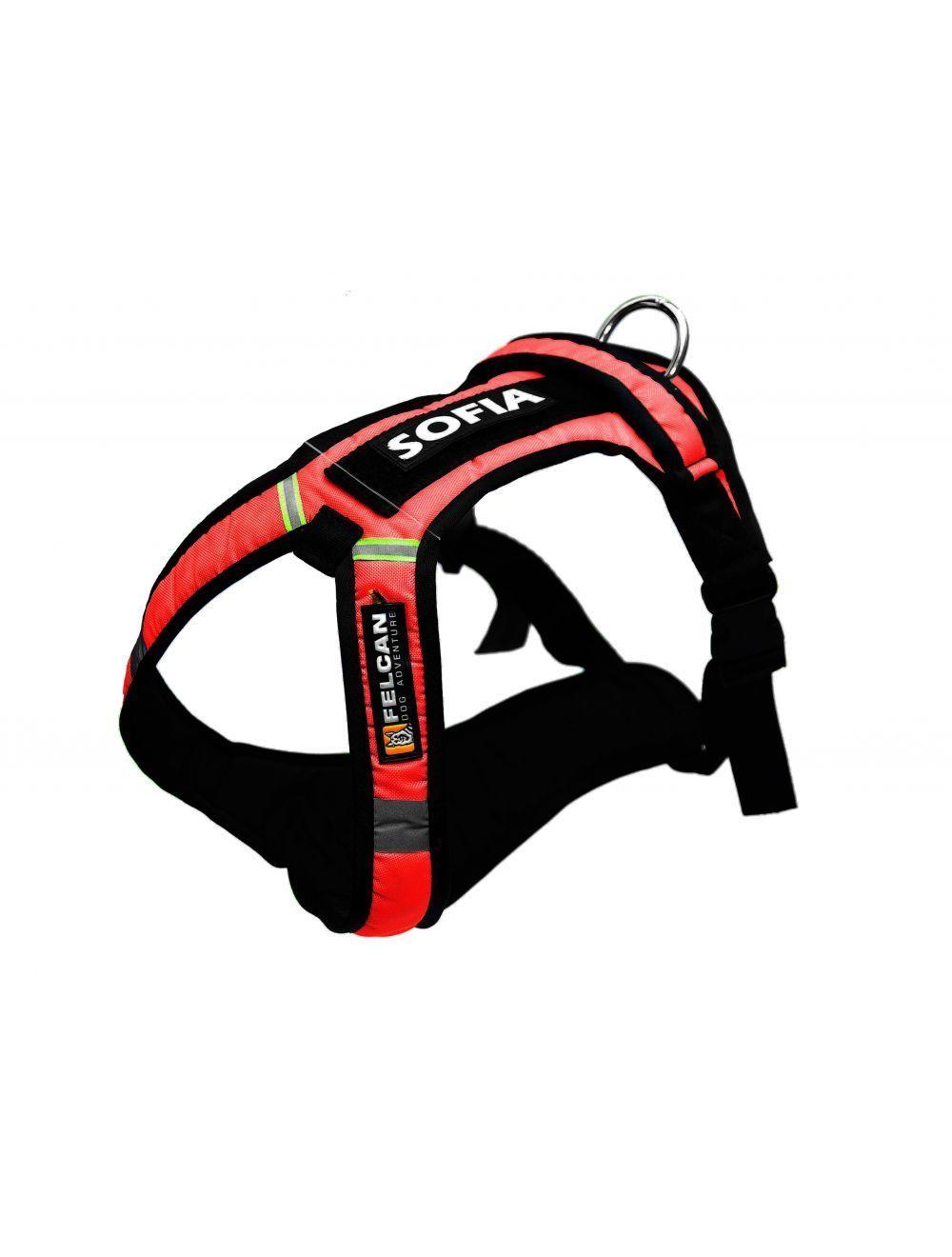 Arnes Dog Adventure Rojo Talla XL