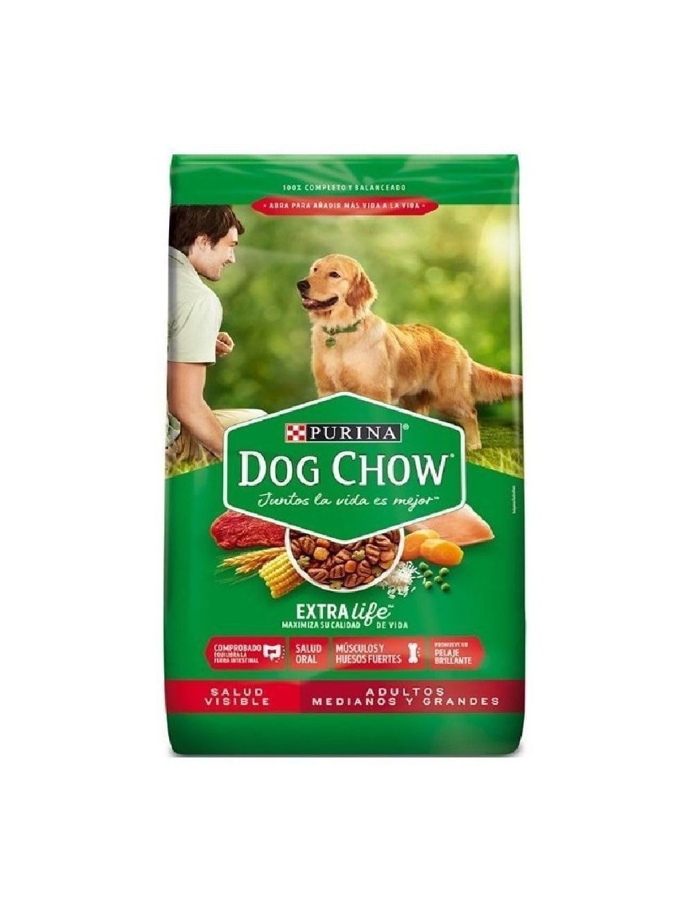 Comida para Perros Dog Chow Raza Grande -Ciudaddemascotas.com