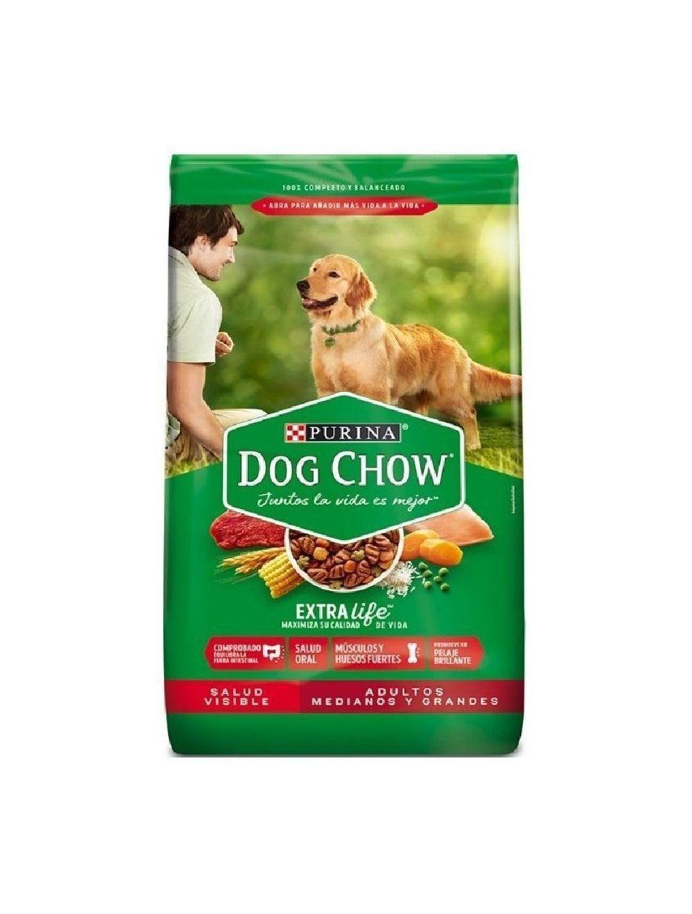 Dog Chow Salud Visible Adultos Medianos Y Grandes (17 Kg)