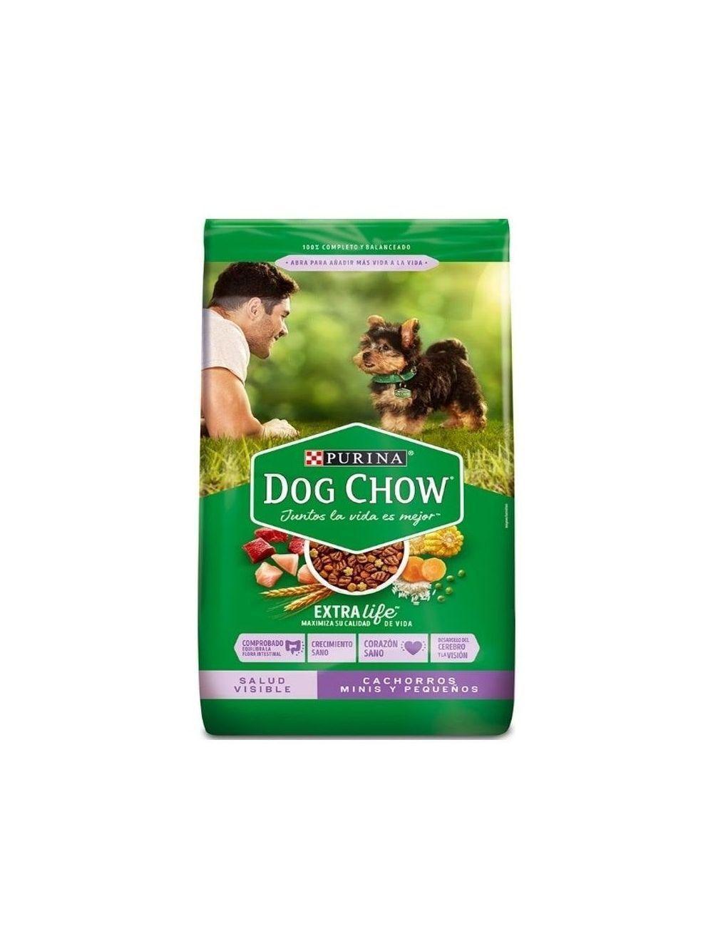 Comida Dog Chow Cachorro Raza Pequeña  - Ciudaddemascotas.com