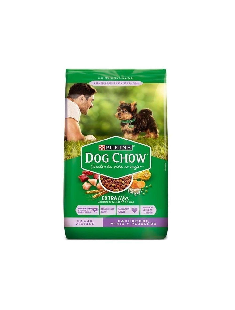 Comida Perros Dog Chow Cachorro Raza Pequeña-Ciudademascotas.com