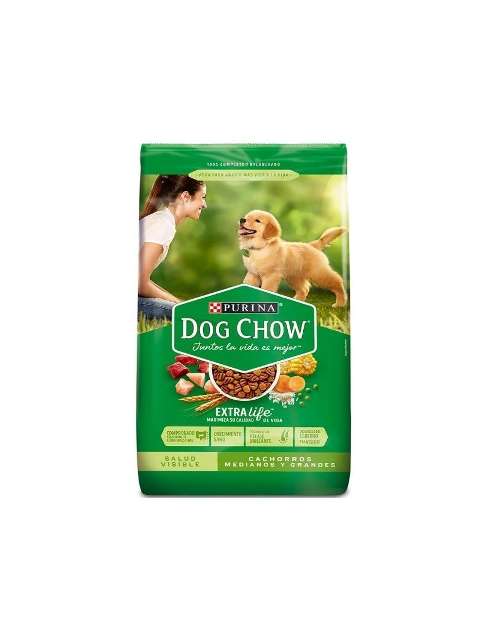 Comida Perro Dog Chow Cachorro-Ciudaddemascotas.com