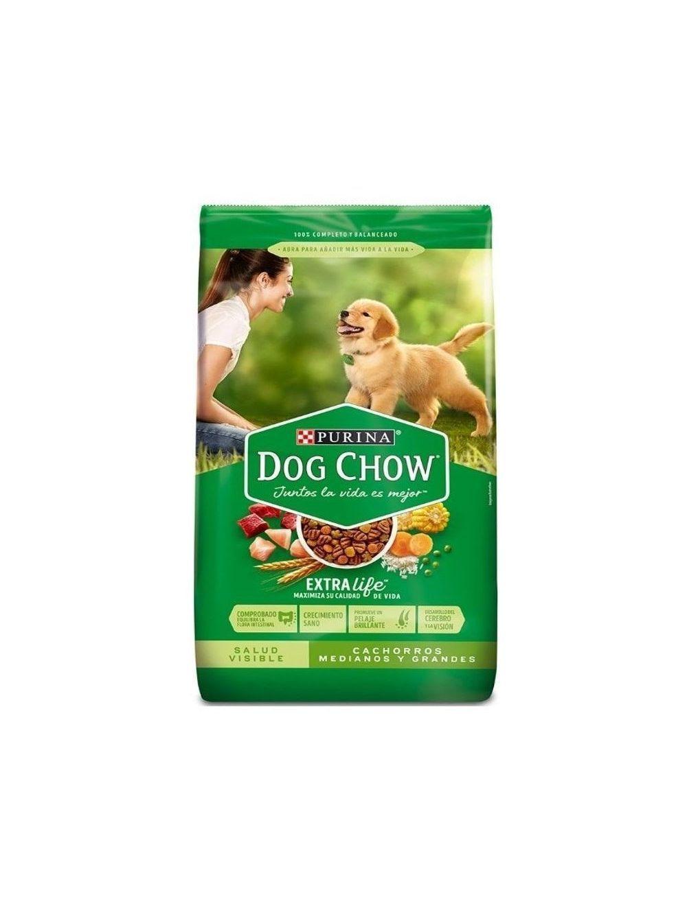 Dog Chow® Salud Visible Cachorros Medianos Y Grandes (2 Kg)