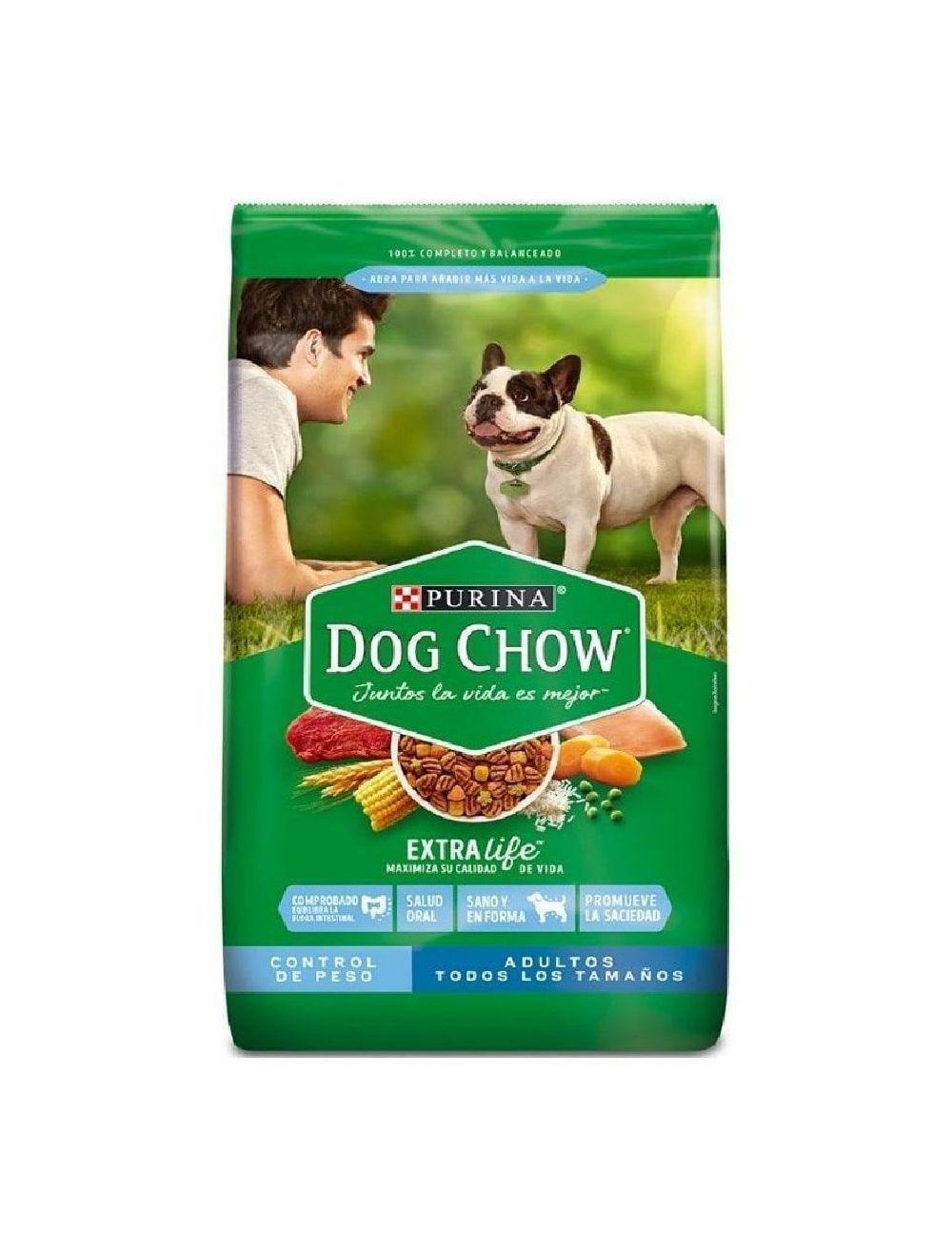 Comida Dog Chow Adulto Light Perros 17 Kg - ciudaddemascotas.com