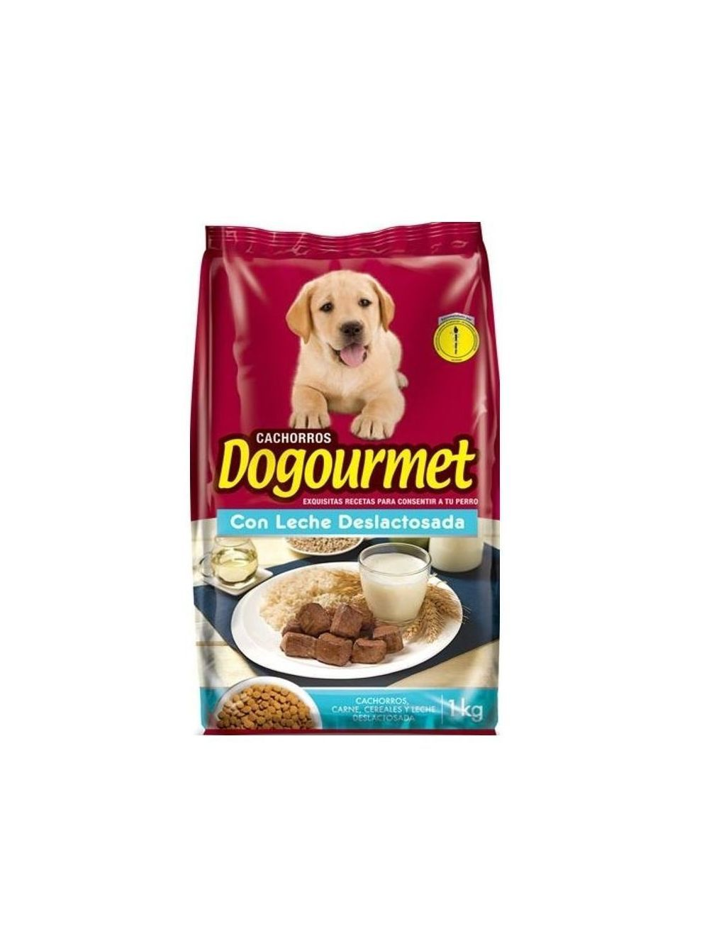 Comida Dogourmet Cachorro Leche Deslactosada - Ciudaddemascotas.com