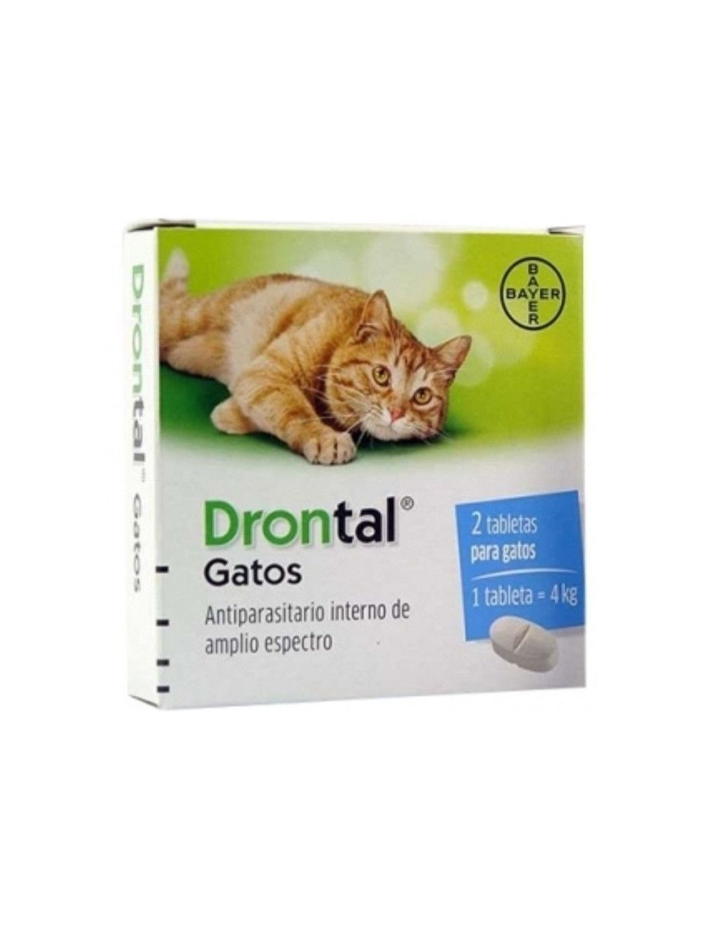 Drontal para Gatos Tabletas x 2