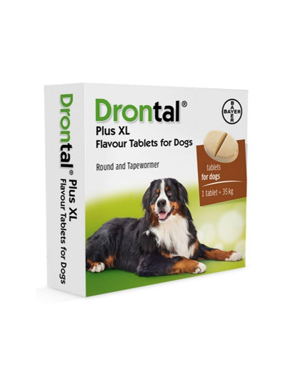 Drontal PS para Perros Grandes Tabletas
