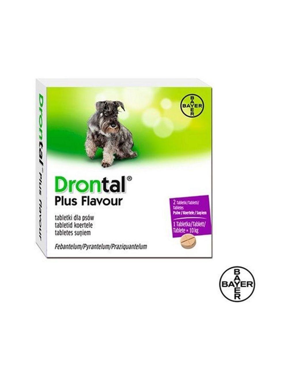 Desparasitante Drontal PS tabletas X 2 - Ciudaddemascotas.com