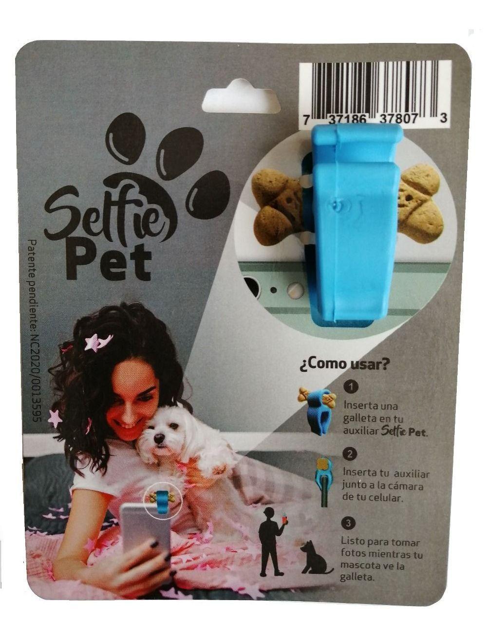 Auxiliar Fotográfico Selfie Pet de bolsillo-Ciudaddemascotas.com