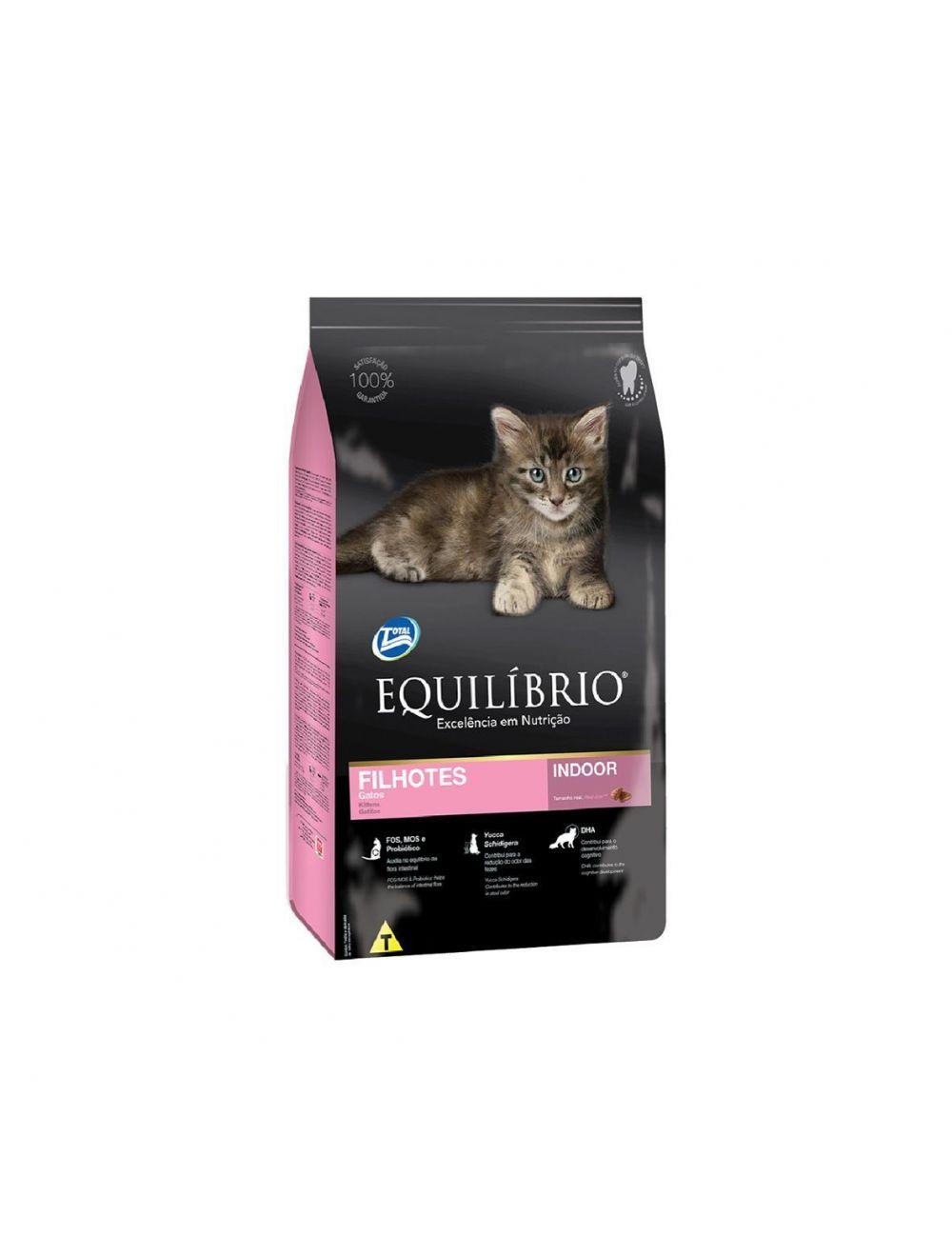 Comida Equilibrio Gatos Filhotes 0,5 Kg - ciudaddemascotas.com