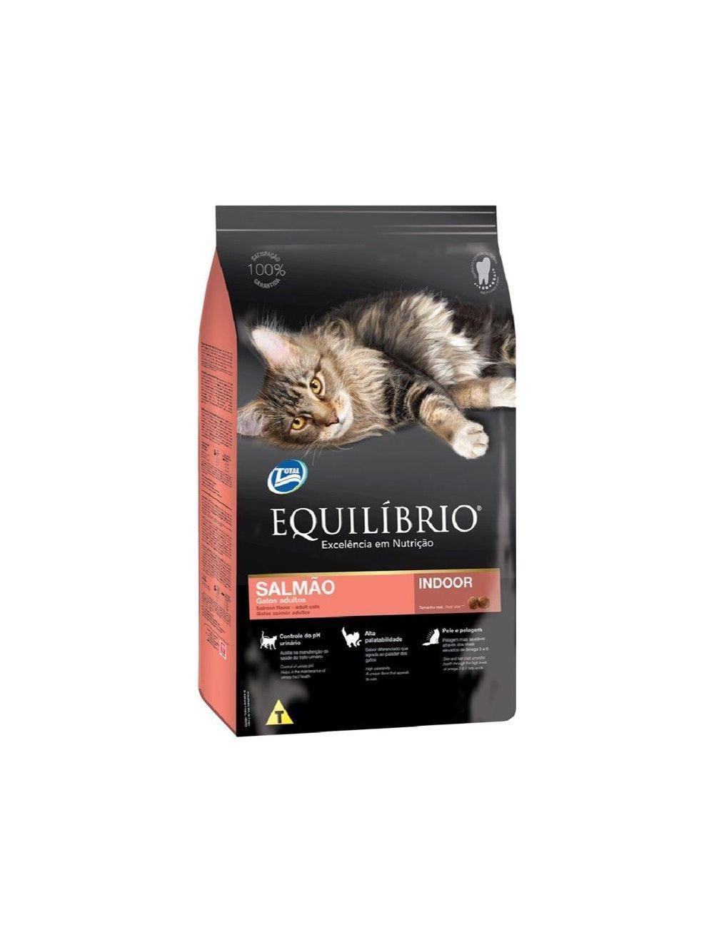 Equilibrio Gatos Adulto Salmón 1,5 Kg