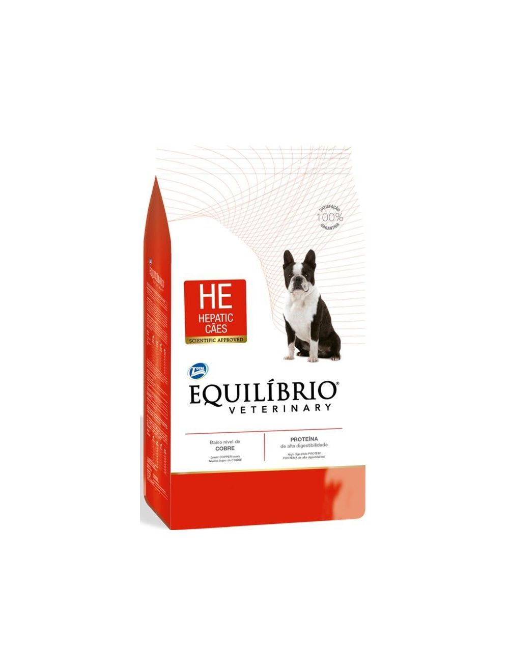 Equilibrio Perro Veterinary Hepatic x 2Kg - P80