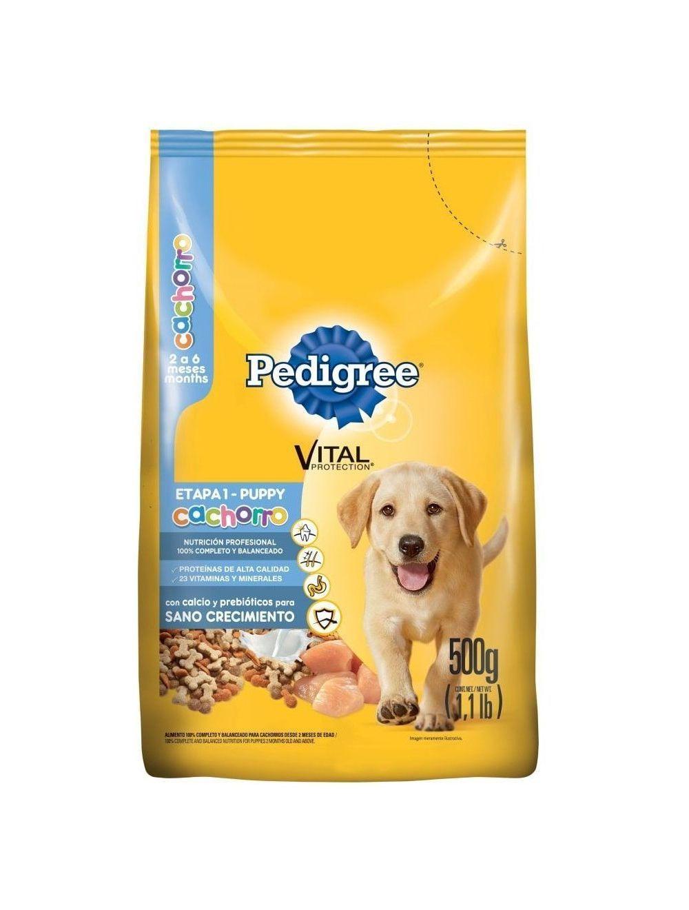 Comida para Perro Pedigree Cachorro Etapa1-Ciudaddemascotas.com