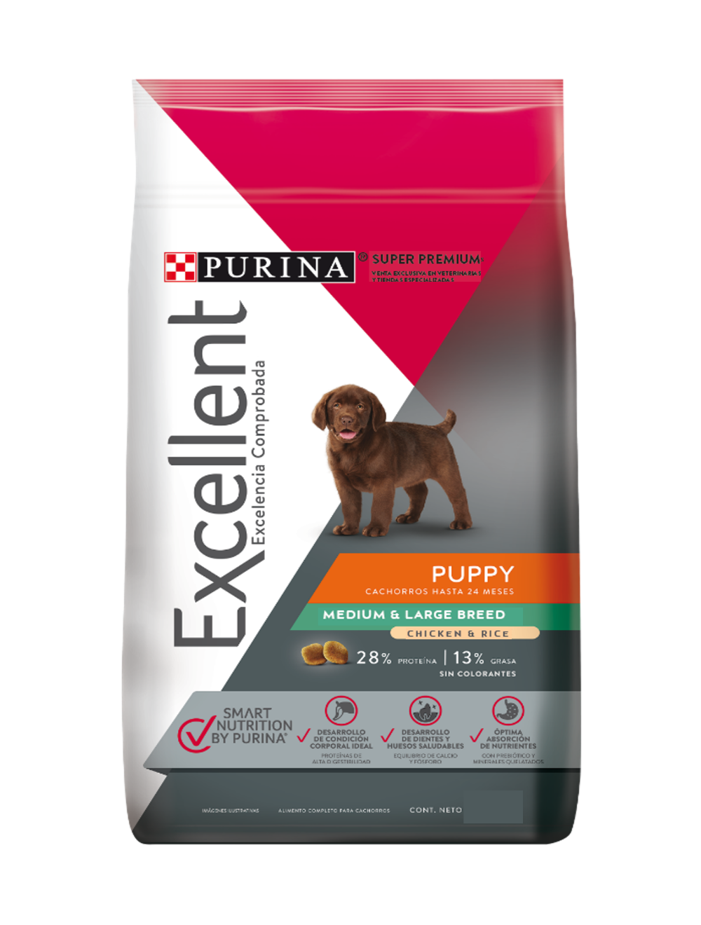 Comida para perro Excellent Puppy - ciudaddemascotas.com