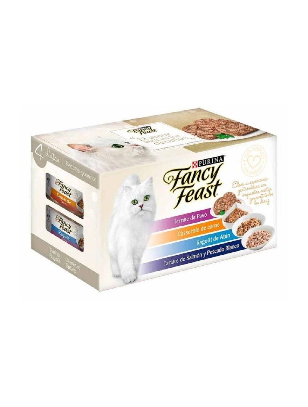Fancy Feast x 4