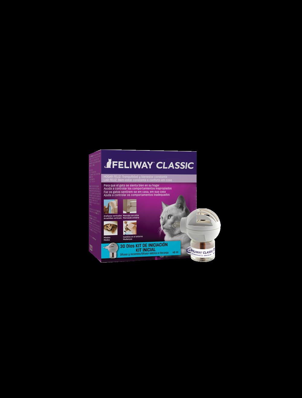 Feliway classic difusor + repuesto 48 ml - Ciudaddemascotas.com