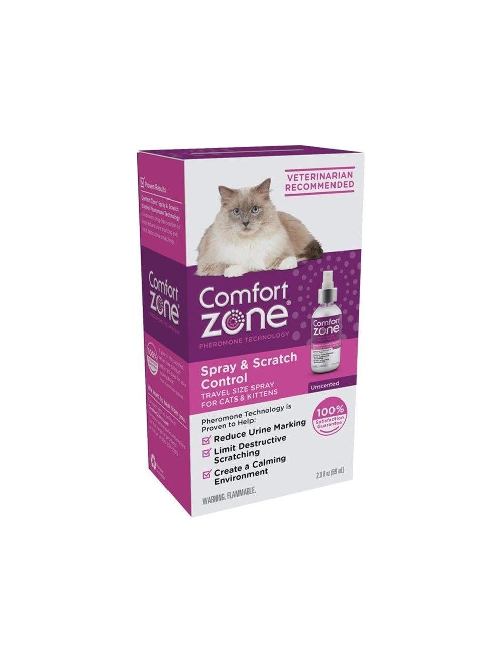 Comfort Zone Feliway En Spray 59 ml  - Ciudaddemascotas.com