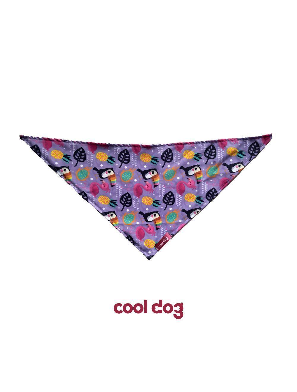 Pañoleta para mascotas-flamingos galletas-Ciudaddemascotas.com