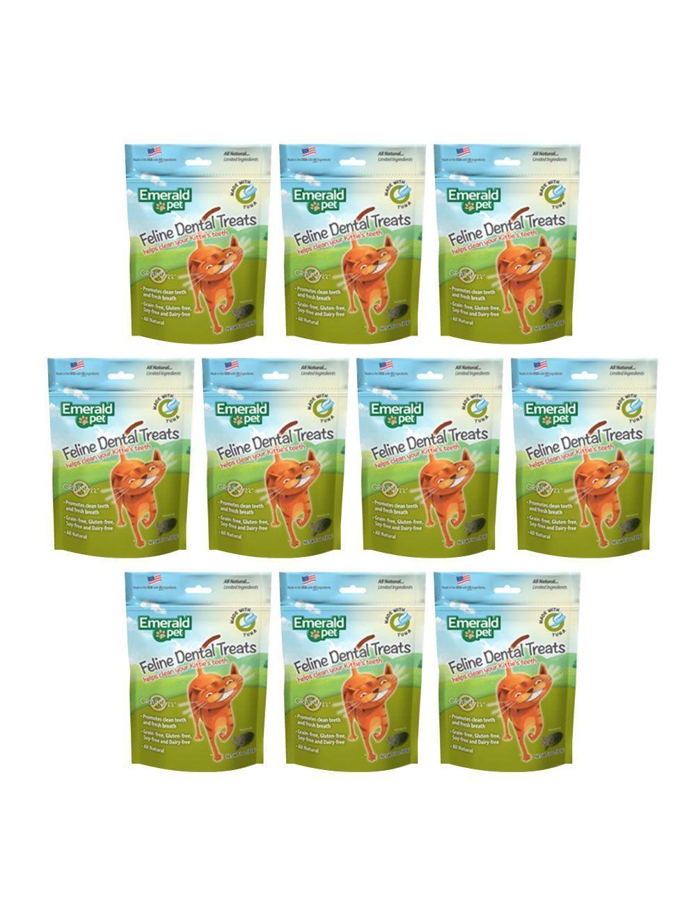 Emerald Pet Snack Para Gatos Dental Atún combo x10und - Ciudaddemascotas.com