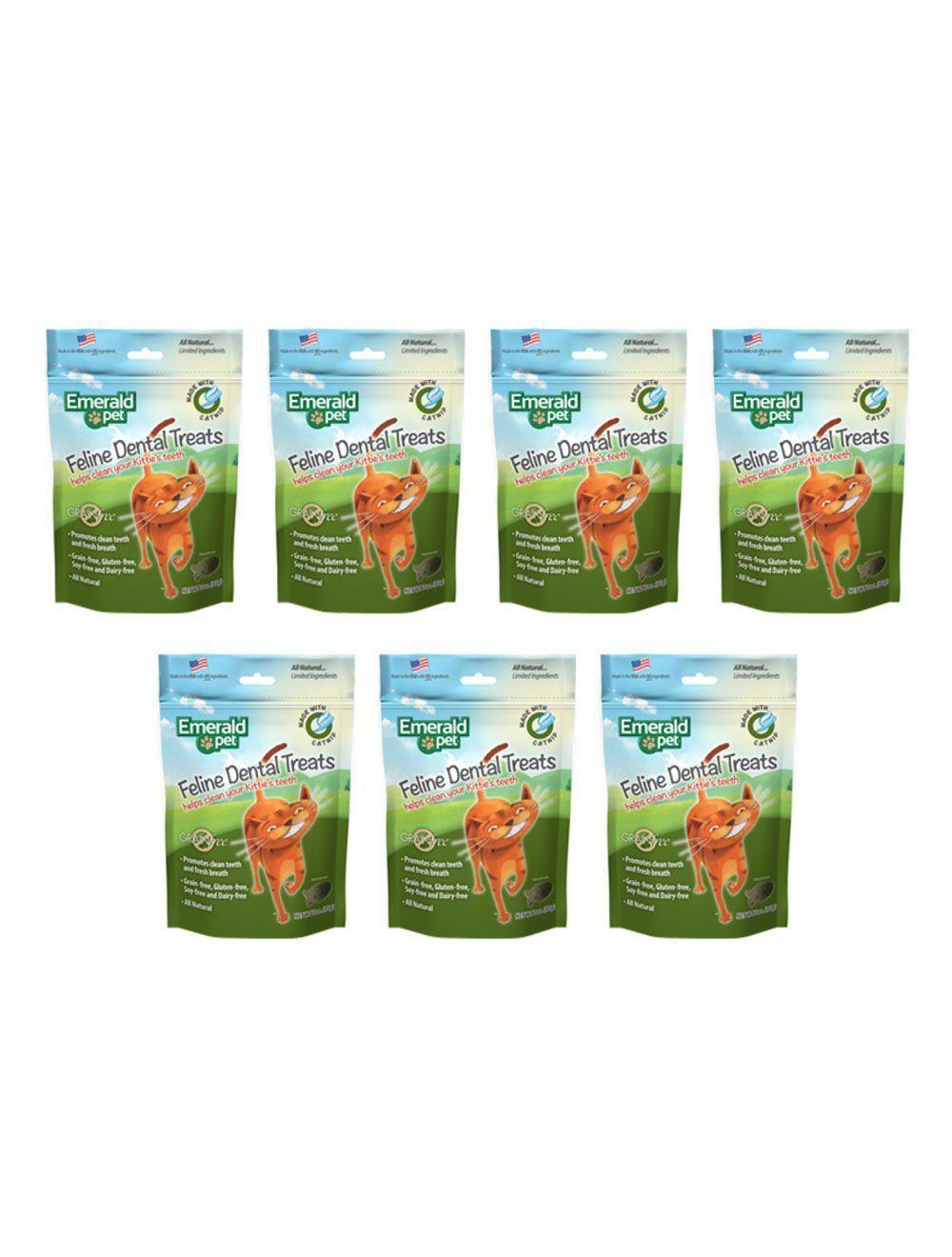 Emerald Pet Snack Para Gatos Dental Catnip combo x7und - Ciudaddemascotas.com