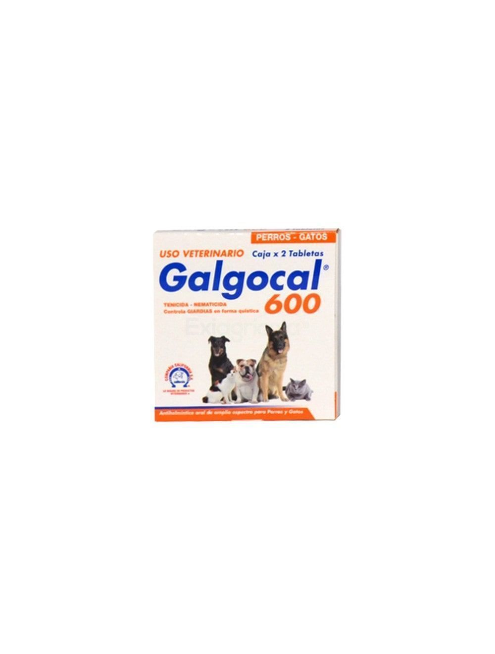 GALGOCAL 600 MG X 2 TB