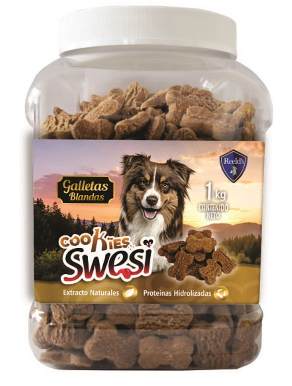 Cookies Swesi Bombonera-Galletas para Perros 1 kg