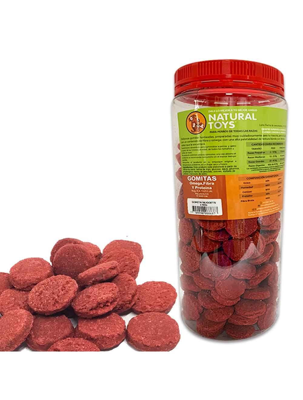 Gomitas Nugget De Proteína Y Fibra Natural 1 Kl