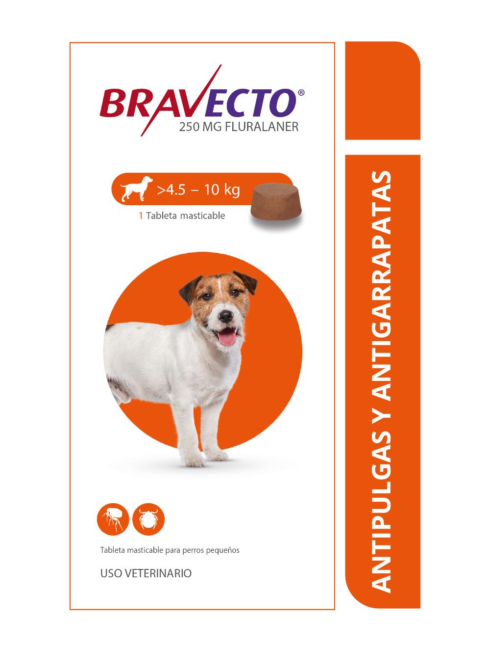 Combo Bravecto Perros de 4 a 10 Kg x 3 unidades - Ciudaddemascotas.com