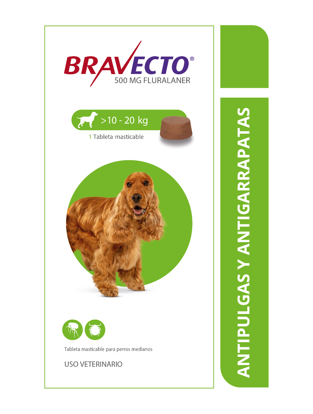 Bravecto Para Perros 10 - 20 KG
